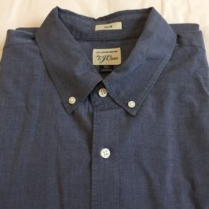 J. Crew Slim Long Sleeves Button Down Shirt XL